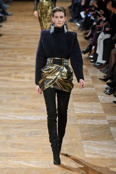 Balmain Fall 2013 #runway #fashionweek