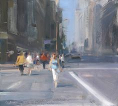 moving figures painting - Google Search