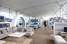 IKEA's pop up store at the Paris airport. #retail #interiordesign