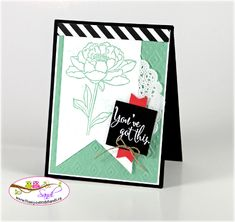 Mint Macaron You've Got This by SandiMac - Cards and Paper Crafts at Splitcoaststampers