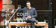 Hot Guy/Cold Drink: Manhattans and Capitol Hill Crushes with ,,,Veep,,,'s Reid Scott