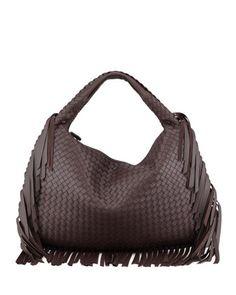 Veneta Large Fringed Hobo Bag 5a6ef7c34c027