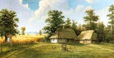Edward Białek :: Malarstwo olejne, Obrazy olejne, Chaty