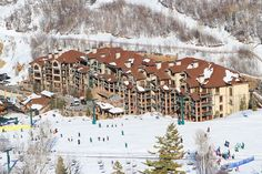Black Diamond Lodge at Deer Valley Resort, Utah...thanks to the pics on Instagram from Kevin.