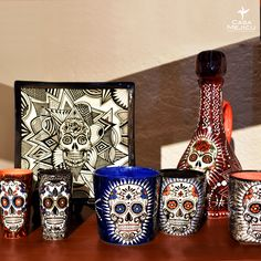 Arte Popular, Mugs, Tableware, Mexican Crafts, Mexican, Dinnerware, Cups, Tumbler, Dishes