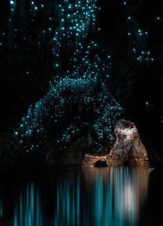Qualcosa di molto speciale vive sotto la superficie della Nuova Zelanda e queste immagini dimostrano che questo paese è altrettanto bello sotto terra tanto