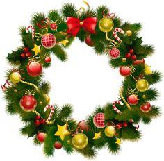 Christmas Wreath Photo Frame