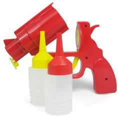 Home-X Condiment Gun Great for Ketchup Mustard or BBQ Sauce Home-X