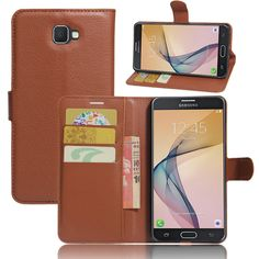 For Samsung Galaxy J7 Prime 2016 Case Leather Flip Wallet Stand Cover With Card Holder Carcasa Para For Samsung Galaxy J7 Prime