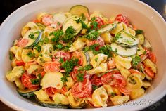 """Pass the Mashed Potatoes"": Summer Tortellini Salad"