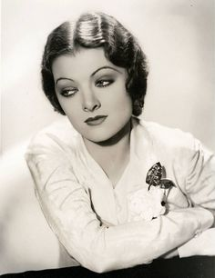 All sizes | Myrna Loy by George Hurrell | Flickr - Photo Sharing!