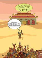 Chinese Buffet  - Jewish Humor