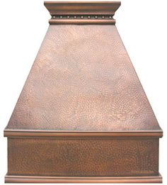 Add a dramatic look of your home with this copper stove hood for kitchen wall or island. Whatever your style, we will handmade the stove hood just for you. Copper Range Hood '0227' by Rustica House. #myRustica