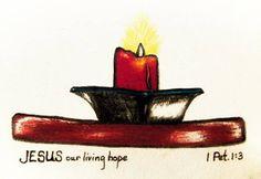 Jesus Art Print featuring the drawing Living Hope by Karen Nice-Webb Hope Art, Thing 1, Jesus Art, Marker Pen, All Print, Colored Pencils, Galleries, Fine Art America, Decorative Bowls