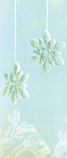 Decorative paper quilling
