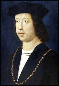 Ferdinand II of Aragon. He and Queen Isabella of Spain were parents of Catherine of Aragon, Henry VIII's first wife.  They were grandparents of England's Queen Mary I (Bloody Mary.)