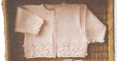 Ravelry: Simple Raglan Baby Jacket pattern by Lion Brand Yarn Crochet Baby Sweaters, Crochet Baby Clothes, Baby Knitting, Crochet For Kids, Free Crochet, Knit Crochet, Simple Crochet, Modern Crochet, Crochet Cardigan Pattern