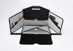 Mobile Workstation & Laptop Bag Rolled into One from piKs design's @LaFonction - via @Design Milk