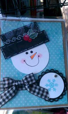 +pib Snowman card :-)
