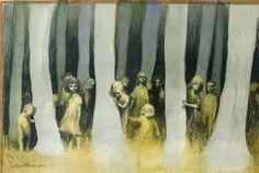 Children's horror stuff by Alexis Deacon [http://alexisdeacon.blogspot.co.uk/2013/05/the-horror.html]