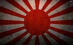 Rising Sun Flag HD Wallpaper
