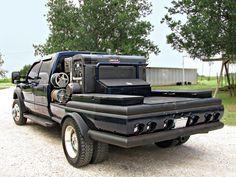 Pipeliner Welding Beds Slick Rigs | Custom Welding Rig Truck Beds