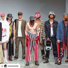 Final @sanchez_kane at @fashionclash_festival #tforthree #tforthreeshop #maastricht #followthedesigners #fuuuckingyoung #runway #model #menswear #unisex #madeinitaly #citizens