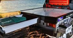 patriot campers dual cab 79 tray - Google Search