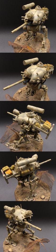 WAVE Ma.K. 1/20 scale Kuster. By Loy Jiong Meng aka JMLOY. #Ma_K #Maschinen_Krieger
