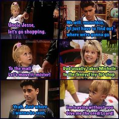 Actually Michelle is my favorite character! Full House Memes, Full House Funny, Full House Quotes, 90s Tv Shows, Old Shows, Fuller House Cast, Dj Tanner, Michelle Tanner, Uncle Jesse