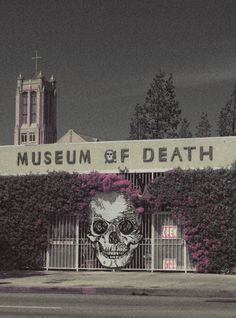 The Museum of Death in Hollywood, more death and skull inspirations at skullspiration.com