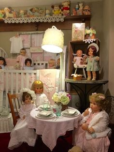The Best Baby Dolls to Add to Your Collection Vintage dolls and decor in my room Newborn Baby Dolls, Baby Girl Dolls, Toddler Dolls, Interactive Baby Dolls, Best Baby Doll, Doll Display, Dollhouse Dolls, Victorian Dollhouse, Modern Dollhouse