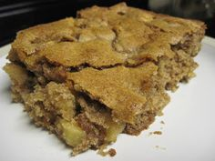 Apple Brownies - Thrifty T's Treasures