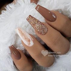 new years nails \ new years nails ; new years nails acrylic ; new years nails gel ; new years nails glitter ; new years nails dip powder ; new years nails design ; new years nails short ; new years nails coffin Marble Acrylic Nails, Fall Acrylic Nails, Acrylic Art, Acrylic Nail Set, Colored Acrylic Nails, Ongles Beiges, Boutique Nails, Aycrlic Nails, Nails 2018