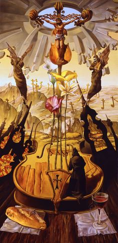 * José Roosevelt - pintor brasileiro - - - Homage to Mozart -second movement (1991)