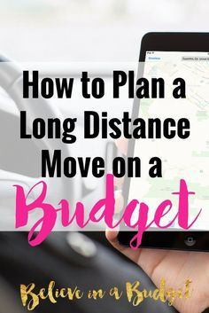 to Road Trip or Move on a Budget Moving long distance can be hectic and stressful, but it can be done. I'm sharing how to move across the country on a budget as I've now done it twice! These helpful moving tips will show you how to plan your route, how to Moving Checklist, Moving Tips, Budget Moving, Moving Hacks, Moving Across Country Tips, Moving Stress, Driving Across Country, Moving Costs, Planning A Move