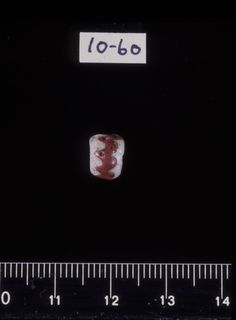 Norway - Viking Beads Motiv Perle fra Honskatten Gjenstand Perler, 111 stk (halskjede) Tid/Periode Vikingtid Sted Norge, Buskerud, Øvre Eiker, Hon nedre, 79 Fotograf Hammer, Åse Kari Bestillingsnr Cf24337_11 Museumsnummer C750,751m.fl. Lisens CC BY-NC 3.0