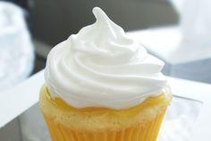 Lemon Meringue Pie Cupcakes - Lemon buttermilk cake, homemade lemon curd, meringue frosting.