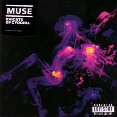 2006 Muse - Knights Of Cydonia (DVD single) [Helium 3 HEL3004DVD] illustration by Jasper Goodall #albumcover