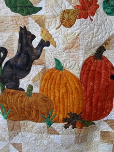 Ideas for my Fall/Halloween quilt
