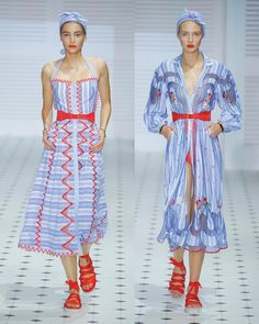 The New Summer 2018 Trelliage story, a playful tribute to 1950's sundresses as photographed with Louise Dahl-Wolfe. By Alice Temperley