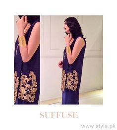 Suffuse by Sana Yasir Fall Collection 2015 For Girls 1