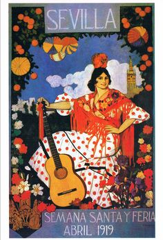 Avril 1919, semaine sainte à Séville