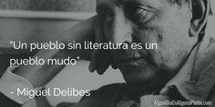 El 12 de marzo de 2010, #TalDíaComoHoy se cumplen 6 años, falleció el escritor español Miguel Delibes, considerado el último referente de las letras castellanas del siglo XX.