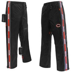 Chicago Bears Tailgate Pants - Black