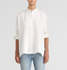 Paper denim & cloth perfect white shirt!!