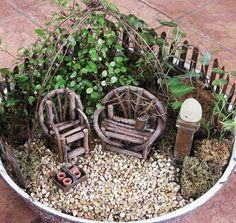 Miniatur Garten In Der Zinkwanne Gestalten | Johanna | Pinterest ... Miniaturgarten Pflanzkubel Balkon
