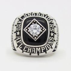 1967 Oakland Raiders AFL Championship Ring