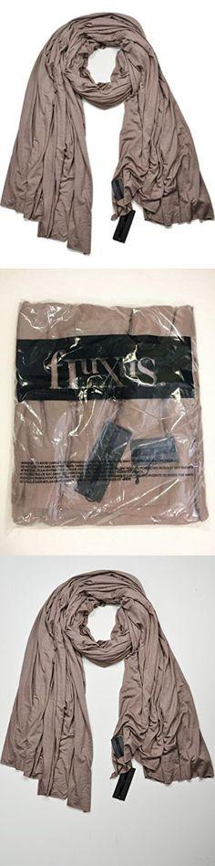 Sale $32.99 Fluxus Nomad Scarf Taupe Oprah's Must have List Unisex Wrap Shawl Cotton