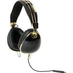 Skullcandy and Roc Nation combine to create the ultimate synthesis of street-level swagger and sophisticated class with the Skullcandy Aviator headphones in the Zumiez Exclusive black and gold colorway. Constructed with the multifaceted listening experience in mind, the Aviator's supreme sound technology is like having your own personal amphitheater, allowing the entire spectrum of the music's production to be expressed. Going beyond state-of-the-art sound and design, the Roc Nation black…